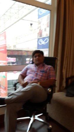 Mahagun Sarovar Portico Suites: View from room