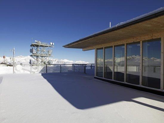Venet Gipfelhütte: Chillout Zone - Seminarraum mit Terrasse