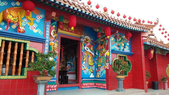 Chingsan Yan Temple: Very well maintained temple~