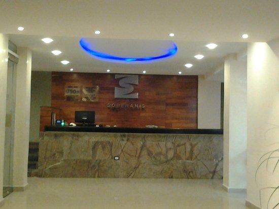 Soberanis Hotel: Recepção do hotel