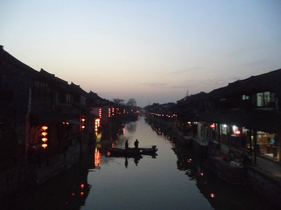 Xitang Ancient Town: 霧濛濛但很美