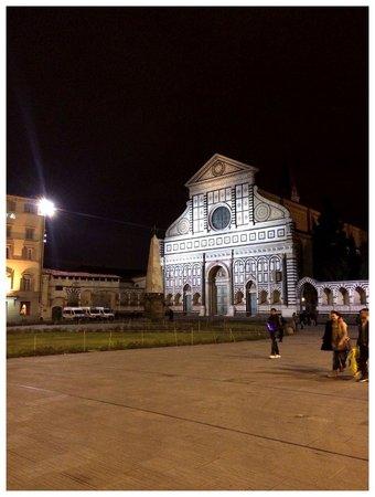 Grand Hotel Minerva: Santa Novella's church (and square)