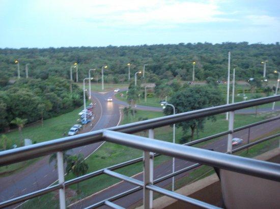 Grand Crucero Iguazu Hotel : vista desde el balcón