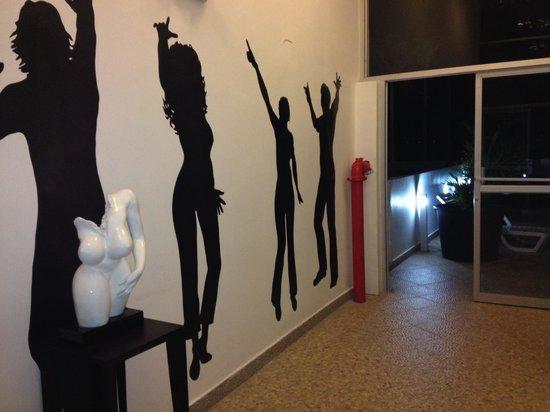 Wyndham Playa Corona: Hacia la discoteca