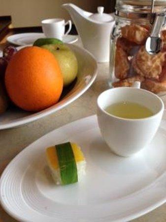 Vana Belle, A Luxury Collection Resort, Koh Samui: Welcome snacks