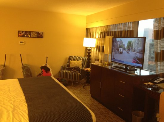 Crowne Plaza Times Square Manhattan: Our room!