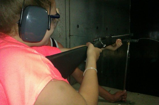 Lone Ranges Shooting Complex: Went with friend 16/1/14 .357 rifle