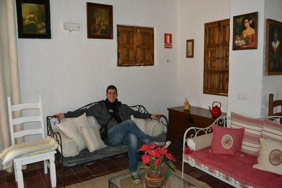 Casa Rural Hoyo Bautista: Recepción
