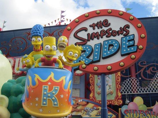 Universal Orlando Resort: The Simpsons Ride