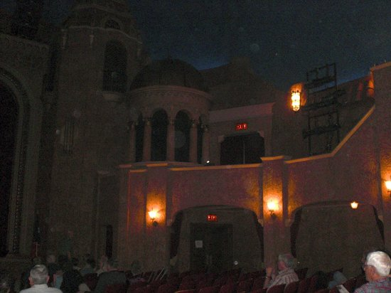 Paramount Theatre: Box Seats near the Stage
