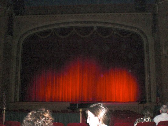 Paramount Theatre: Majestic Curtain at the Paramount