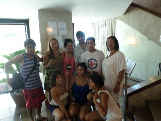 Hotel Marina Palace Rio Leblon: MundoVilla jornalismo comunitario em Buenos Aires, Francilene Martins