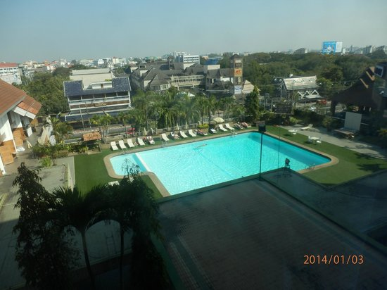Chiang Mai Orchid Hotel : pool