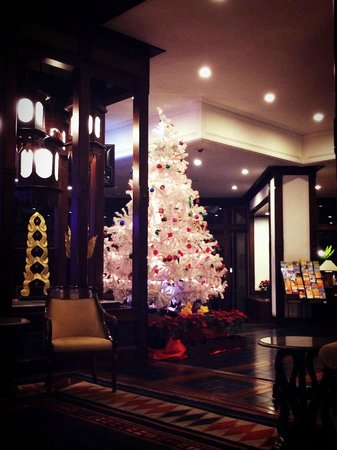 Chiang Mai Orchid Hotel : lobby of Christmas time