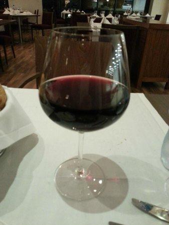 Movenpick Hotel Ramallah: Dinner - local wine