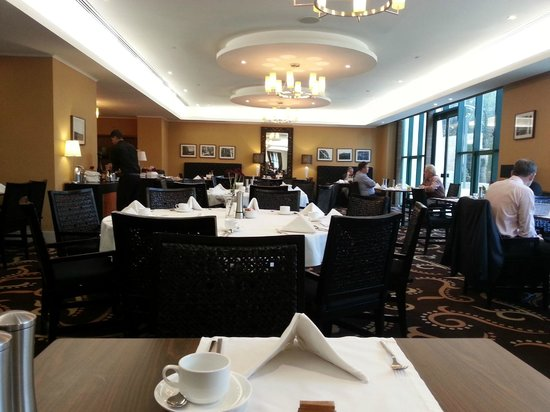 Movenpick Hotel Ramallah: Breakfast in the Italian restaurant