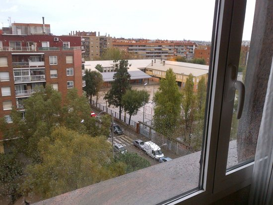 Salles Hotel Ciutat del Prat: view from the room
