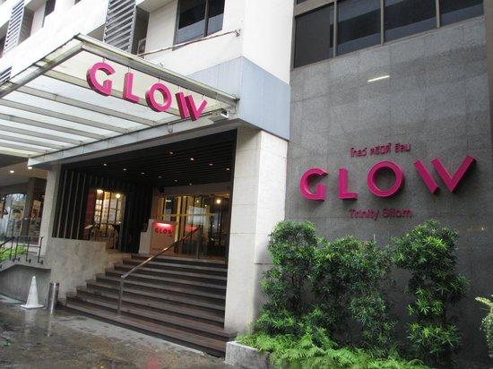 Trinity Silom Hotel : Hotel Entrance