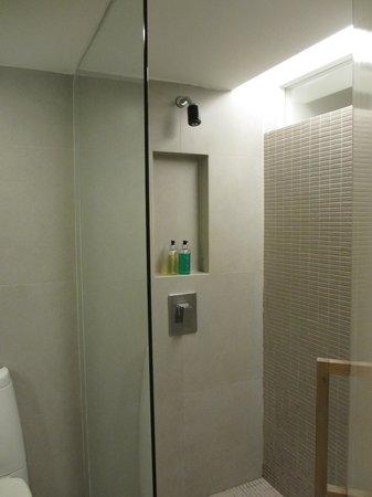 Trinity Silom Hotel : Shower Space