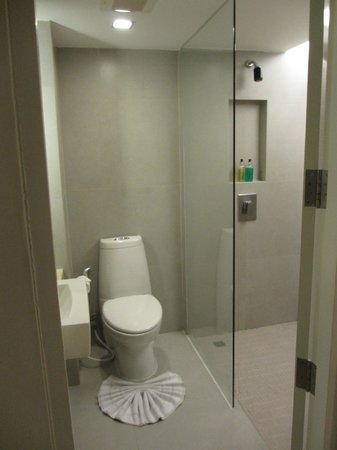 Trinity Silom Hotel : Toilet