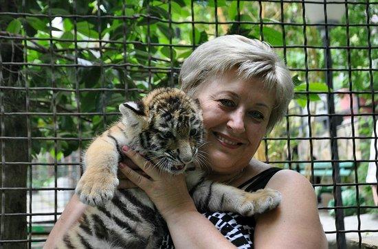 Yalta: Здесь можно зайти в клетку с тигром