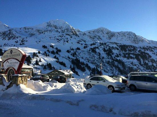 Hotel Schneider : Beautiful view