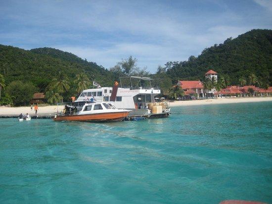 Redang Island: Imagine crystal blue water welcoming you