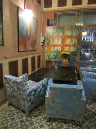 Artist Alley Restaurant : Second dining room