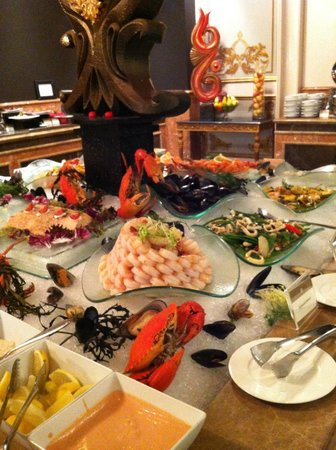 Jumeirah Zabeel Saray : some of the buffet selection Imperium