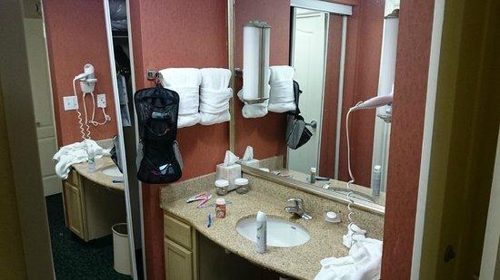Homewood Suites by Hilton Orlando-Nearest to Univ Studios : Banheiro