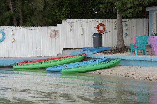 Seafarer Resort and Beach: Kayaks