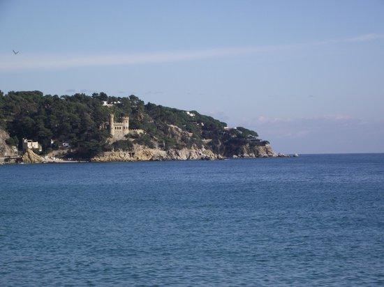 Hotel Samba: Castle near beach
