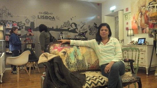 The Art Inn Lisbon: Recepção