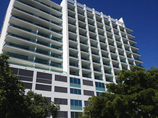 Residence Inn Fort Lauderdale Intracoastal/Il Lugano: Frente Hotel