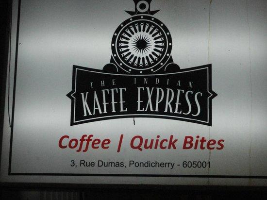 The Indian Kaffe Express : Kaffe Express