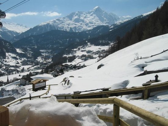 Grünwald Resort Sölden: Terrasse Nederkogl-Hütte
