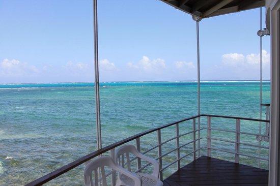 Decameron Aquarium: Balcon de notre chambre