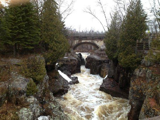 Lutsen Resort on Lake Superior : Pigeon River
