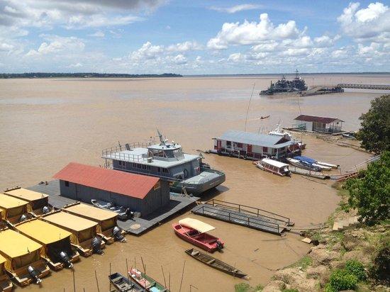 Itacoatiara, AM: Vista do Restaurante Panorama - Rio Amazonas