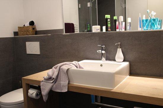 Fruehstueckshotel Fuerstenwerth: Badezimmer
