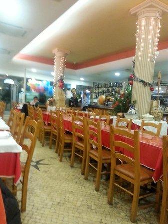 Marisqueira Santa Marta : Comedor