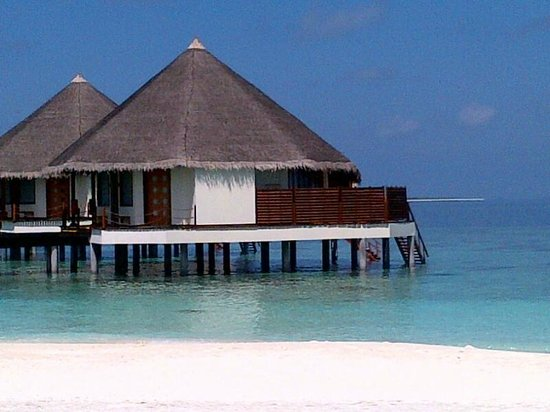 Adaaran Prestige Water Villas: there are two rooms in each cottage