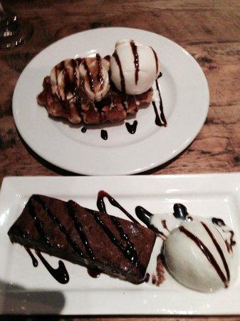 The Blackbird: Desserts