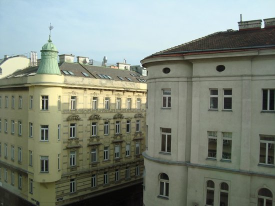 Hotel Das Triest: View out of our Rooms Window