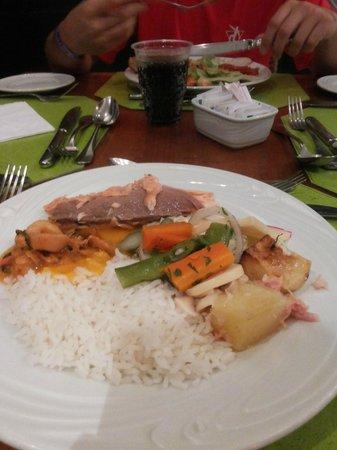 Promenade Angra dos Reis : Jantar delicioso