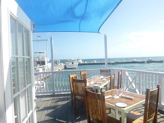 Morgan's Harbour : A view from the bar...