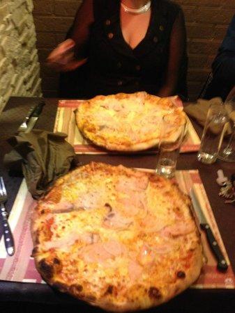 Monte Cristo: pizzas saumon