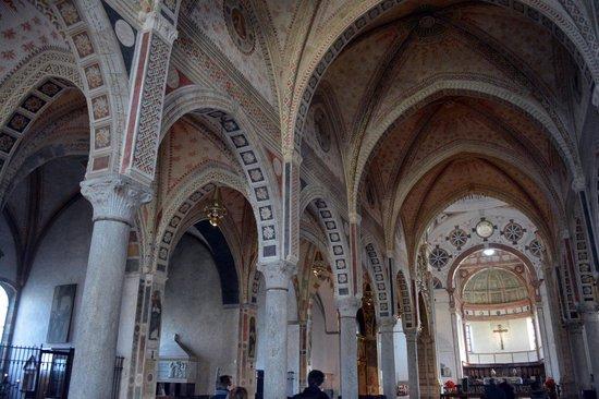 Sainte-Marie-des-Grâces (Santa Maria della Grazie) : Inside the church