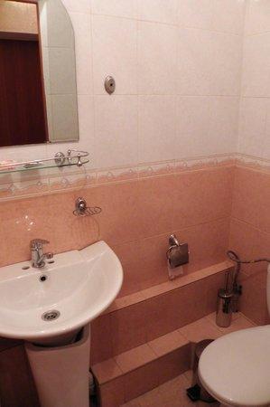 Metro Park Hotel: Ванная комната