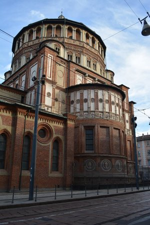 Sainte-Marie-des-Grâces (Santa Maria della Grazie) : The church